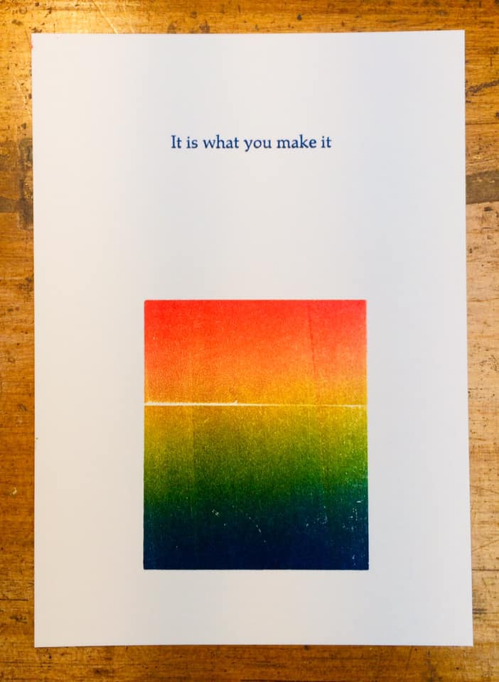 Image of What you make it (A6)