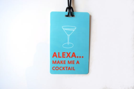 Image of Alexa Luggage Tag