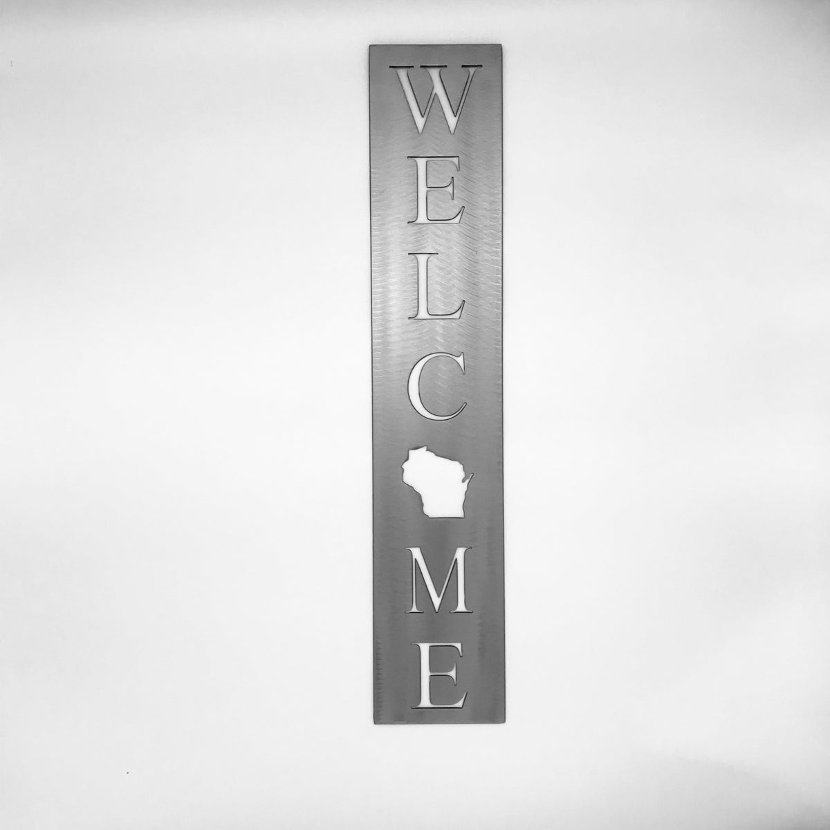 Welcome Sign -  Vertical- Customizable