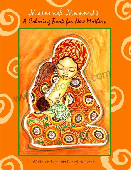 Image of The Maternal Moments Coloring Book