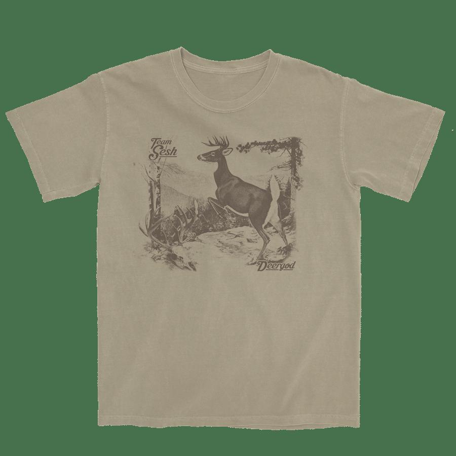 "Image of DeerGod ""UpNorth"" short sleeve"