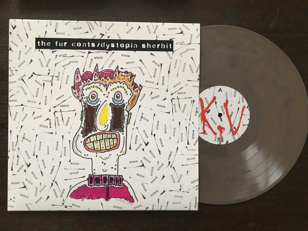 "Image of The Fur Coats ""Dystopia Sherbit"" LP"