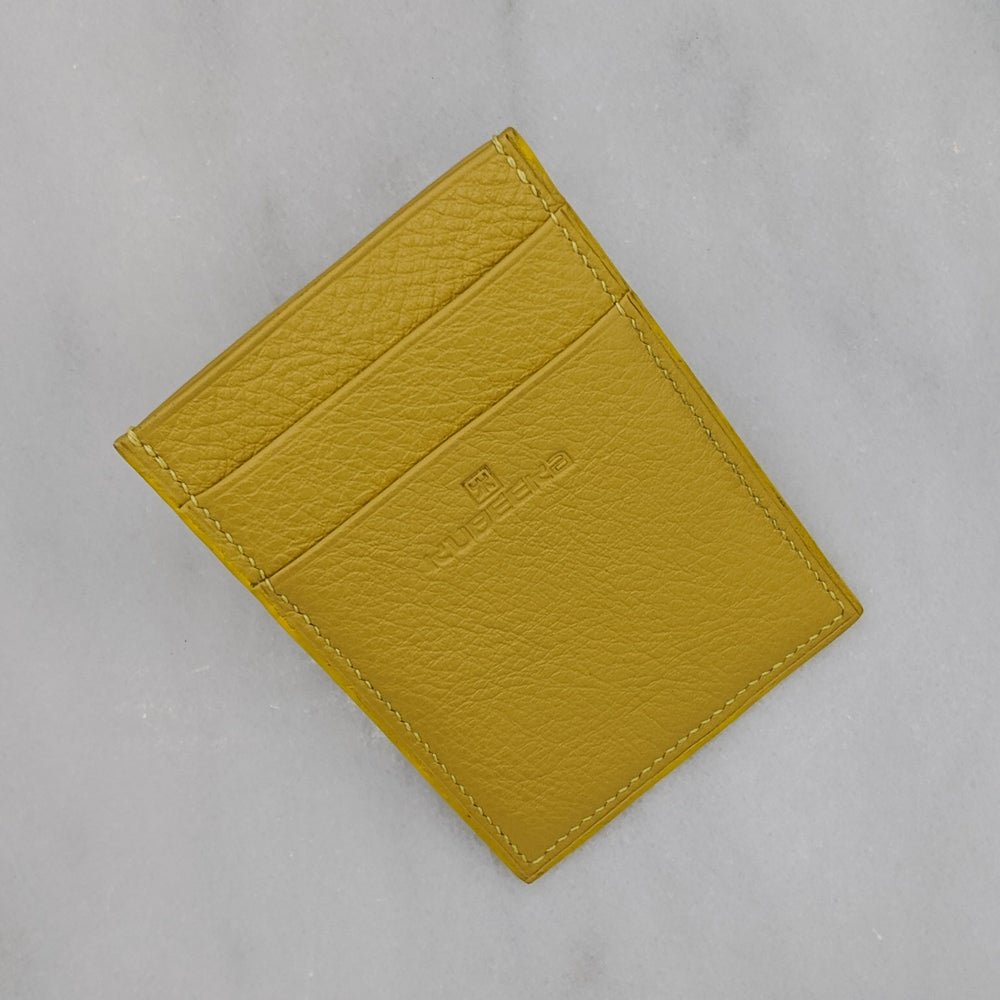 Image of CARD Holder Vertical – Yellow