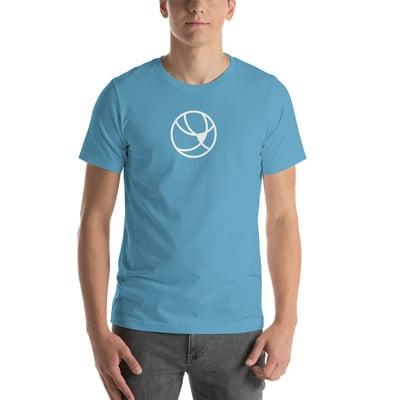 Image of Somrod WKO Logo Unisex T-Shirt - Ocean Blue