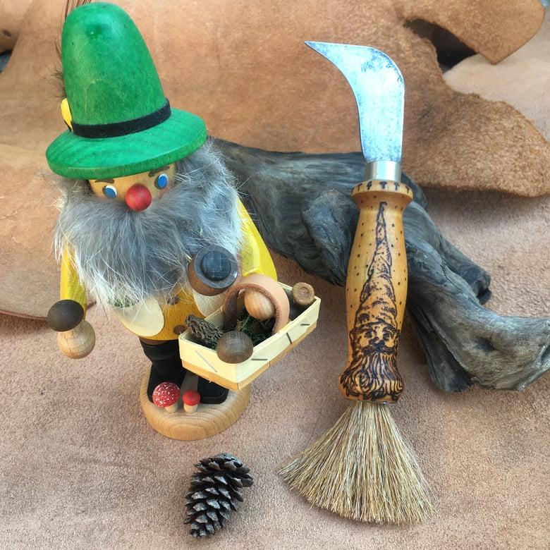 Image of Gnome / shaggy Mane Mushroom Knife