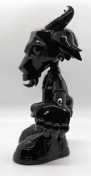 Image of THE G.O.A.T. RESIN 'BLACK (CAT)' EDITION