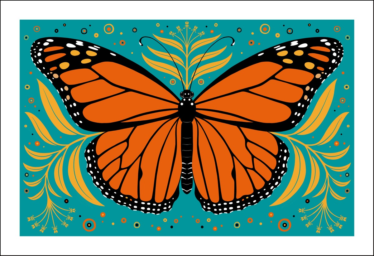 Image of Monarch Butterfly Print
