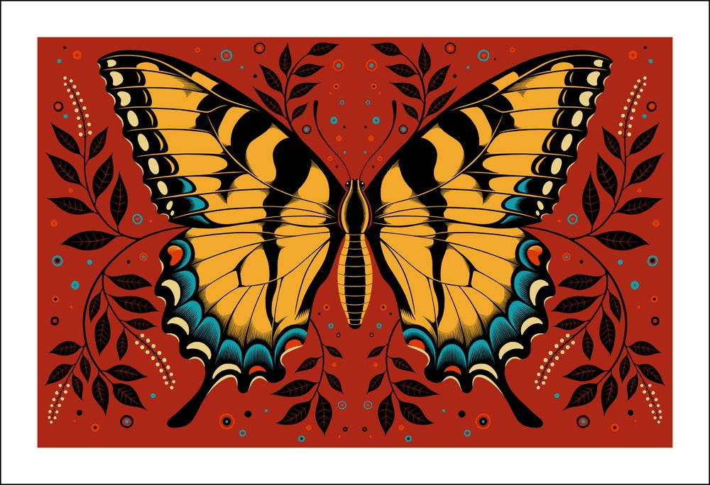 Image of Tiger Swallowtail Print