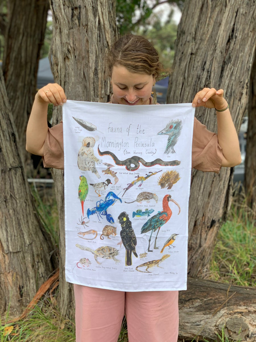 Image of Mornington Peninsula - A Tea Towel