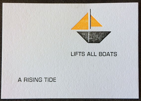 Image of Rising tide (A7)