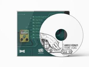 "Image of Angelo Vernati's ""FRAME LICKS""  - CD version Jewel Box"