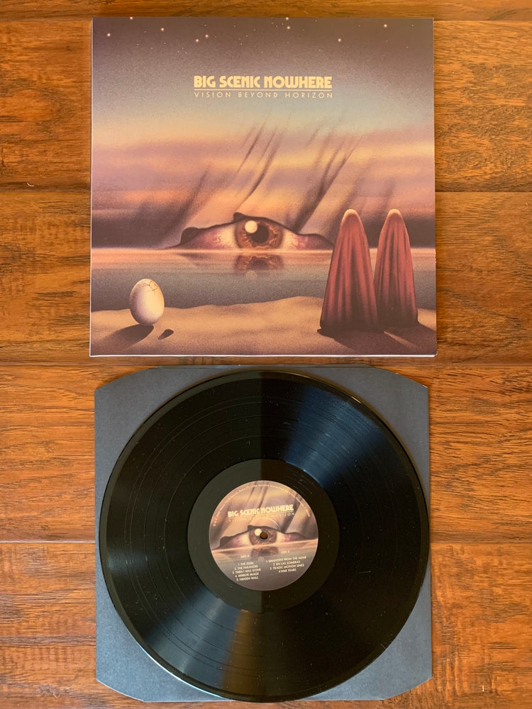 "Image of ""VISION BEYOND HORIZON"" Classic Black LP"
