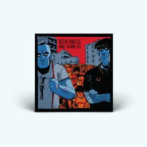 "Image of ""RESTA RIBELLE"" 7"" - Classic Black Vinyl"
