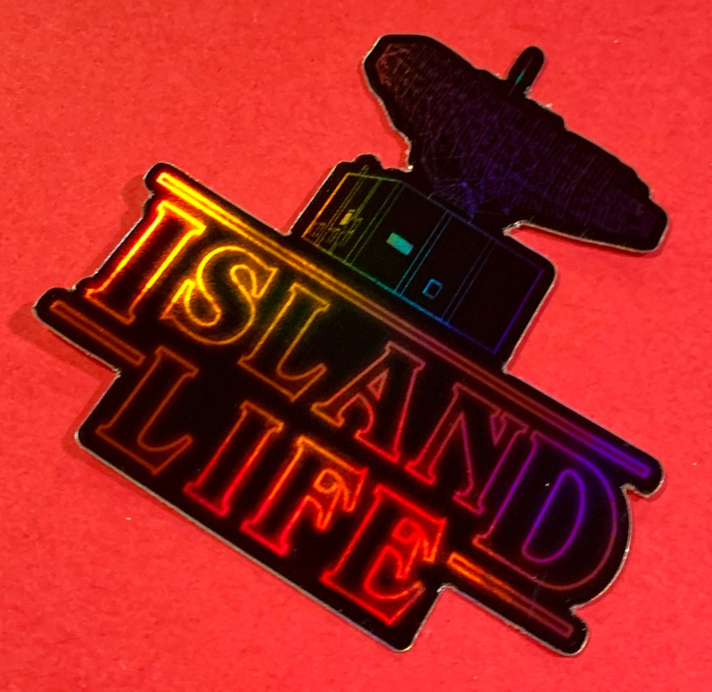 Image of Stranger Island Life Things Decal
