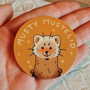 musty mustelid sticker