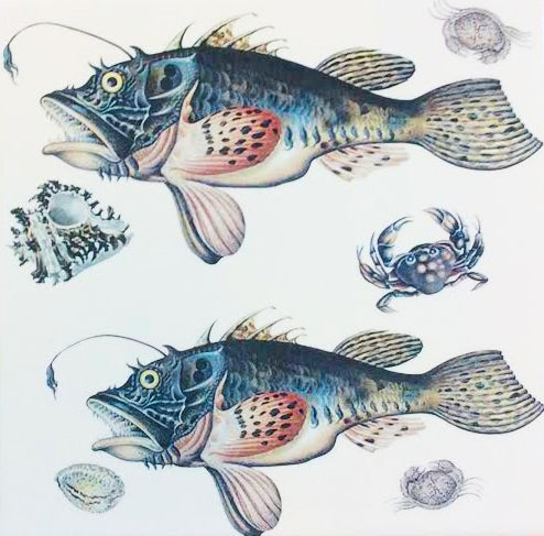Scary Fish Tile