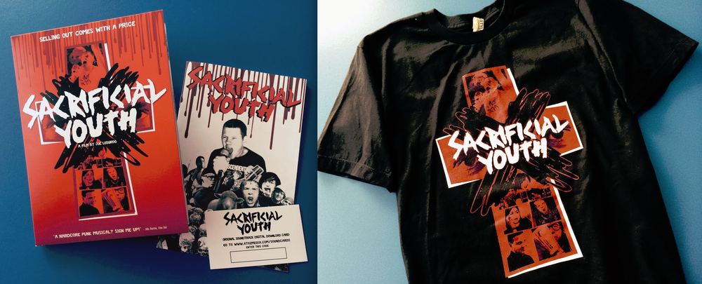 "Image of ""Sacrificial Youth"" Deluxe DVD plus T-Shirt!!! ON SALE!"