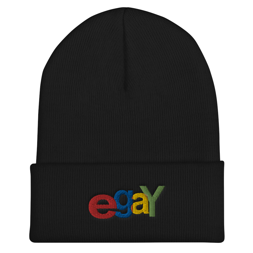 Image of eGay Embroidered Beanie
