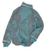 Image of Turquoise Beaded Souvenir Jacket