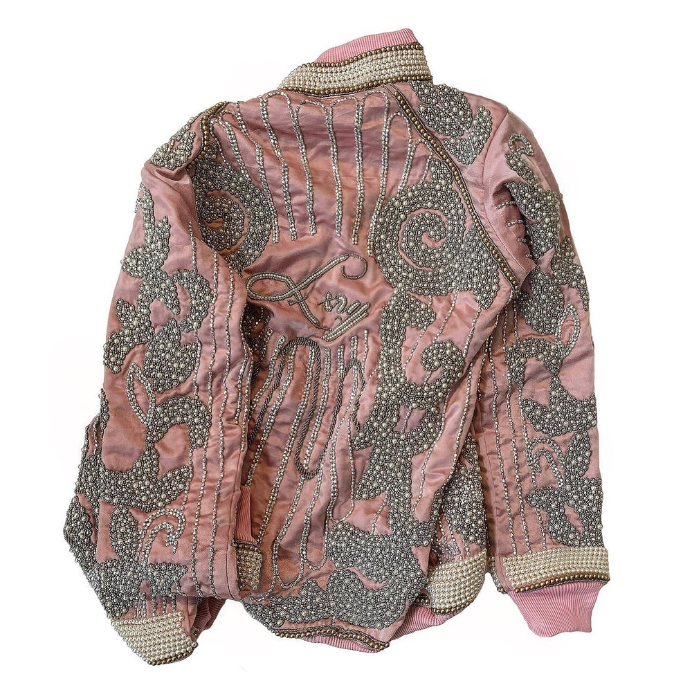 Image of Rose Beaded Souvenir Jacket