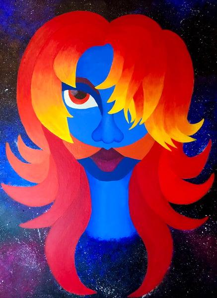 Image of Divine Phoenix Painting