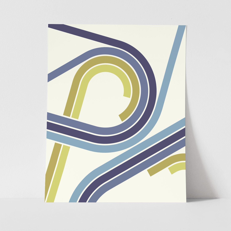 Image of Shift Repeat Art Print