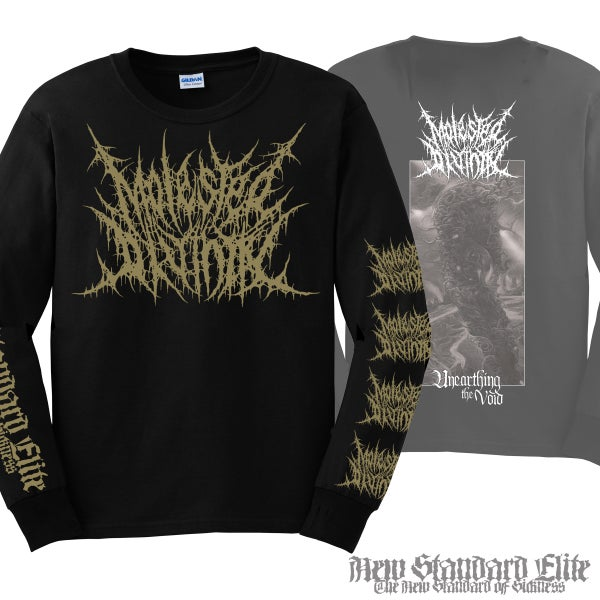 "Image of MOLESTED DIVINITY ""UNEARTHING THE VOID"" LONG SLEEVE"