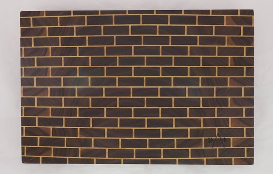 Image of END-GRAIN CUTTING BOARD - BRICK
