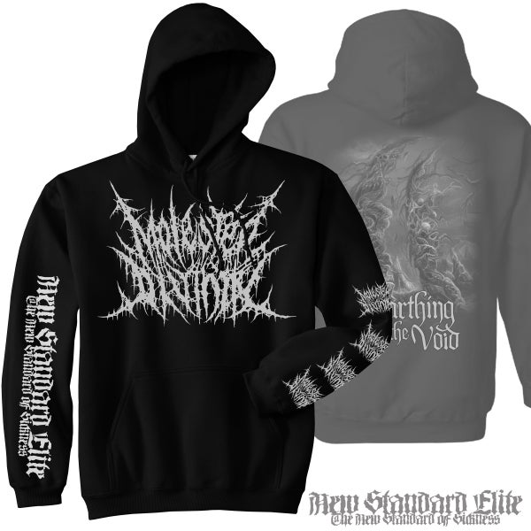 "Image of MOLESTED DIVINITY ""UNEARTHING THE VOID"" HOODIE"