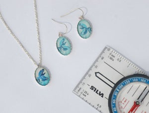 Image of Spirited Women's adventure race - sterling silver earrings