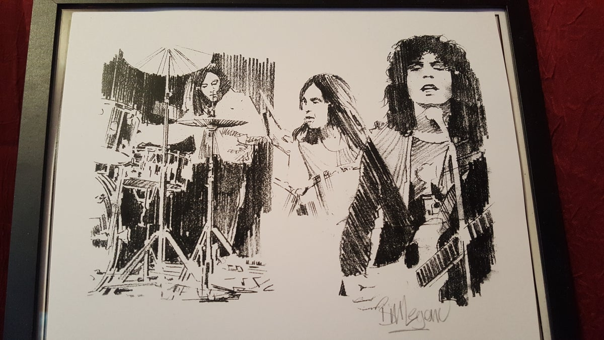 Image of Trio of prints/all personally signed by Bill & FREE SHIPPING!]