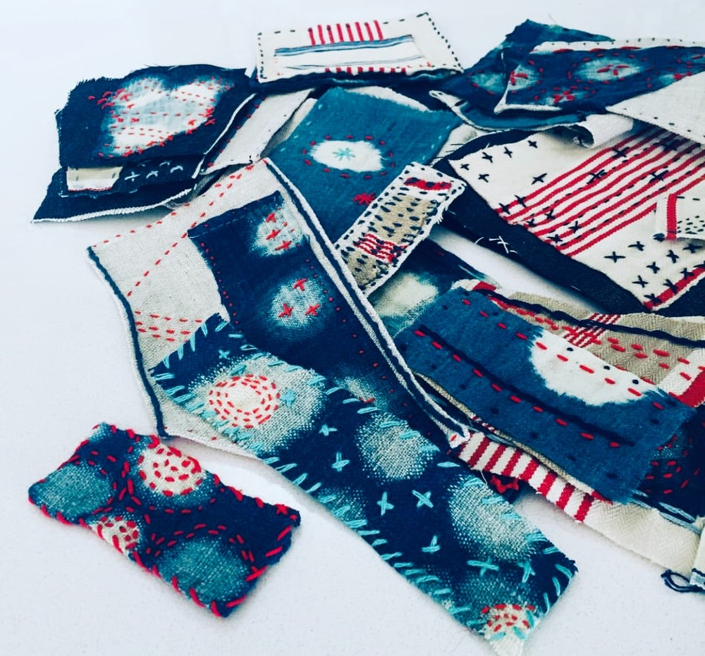 Image of Patch mend and upcycle with Cath and Indigo ...Saturday March 14th 2-4pm