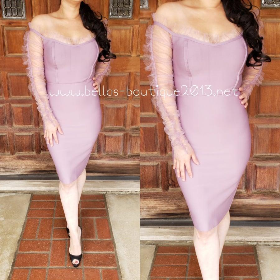 Image of Blushing Couture Bandage Dress