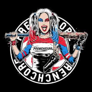 Image of Complete Frenchcore Harley Quinn Zip Hoodie