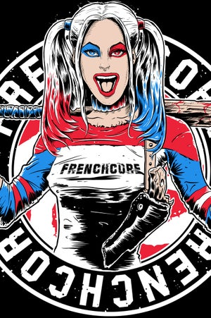 Image of Frenchcore Harley Quinn      T-Shirt