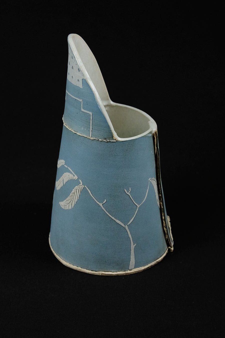 Image of SARAH DUNSTON SMALL BLUE JUG
