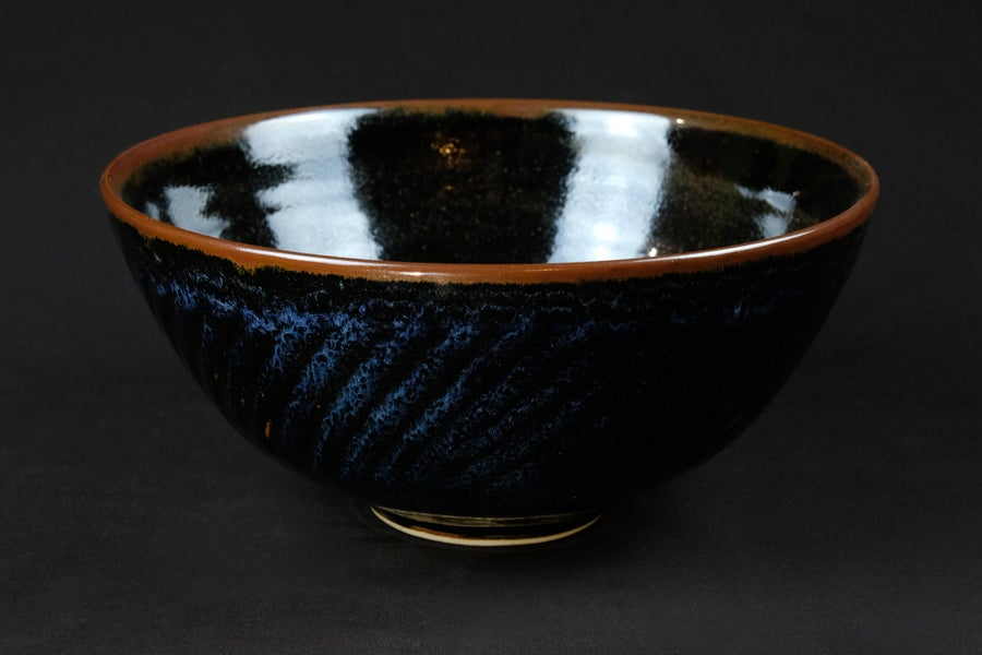 Image of GEOFFREY WHITING LARGE CERAMIC BOWL