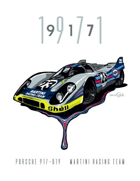 Image of Martini Porsche 917 Print