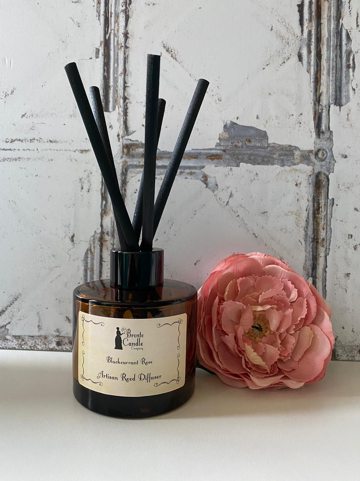 Image of Blackcurrant Rose Reed Diffuser