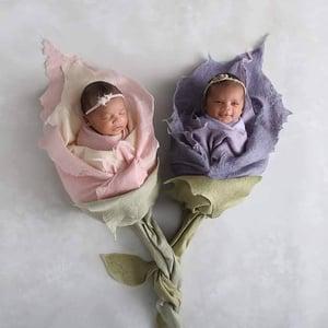 Image of Flower Bundle  - Merino silk layers