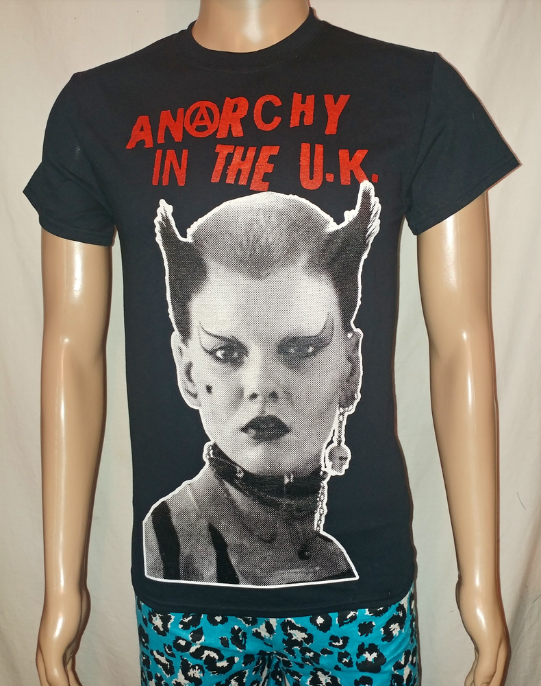 Image of Anarchy in the UK Soo Catwoman black tshirt