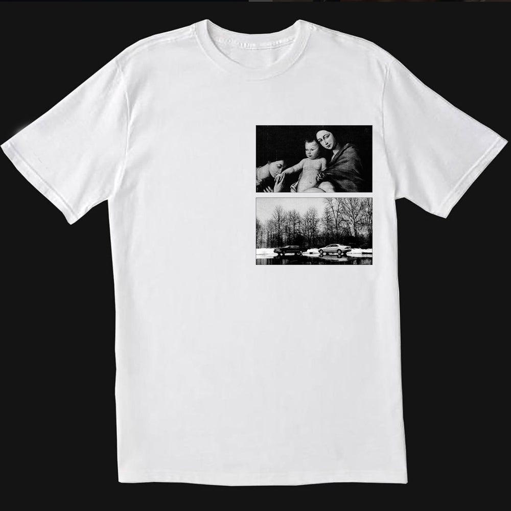Image of *PRE-ORDER* TONY SOPRANO POEM T SHIRT CRYSTAL ZAPATA