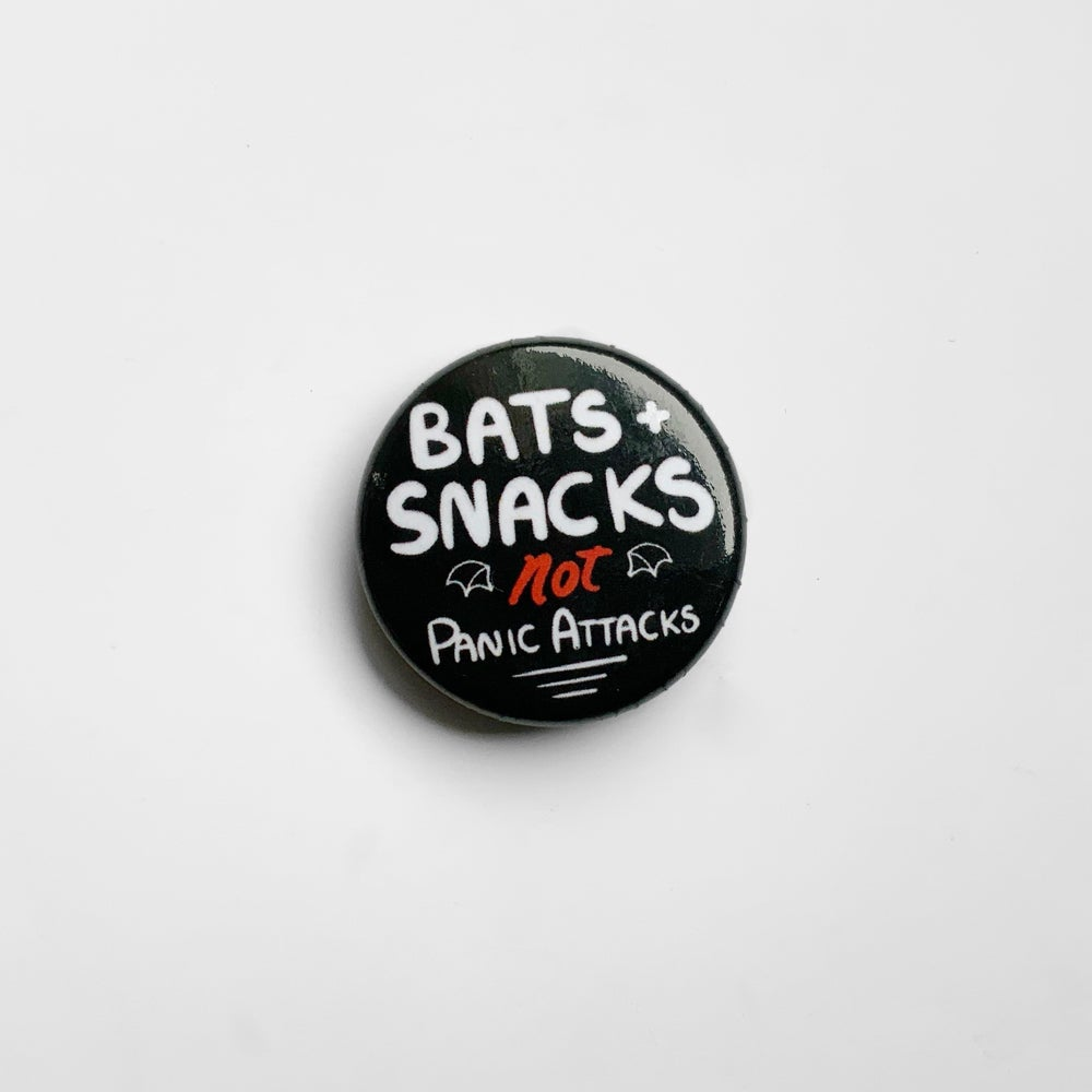 Bats, Cats and Snacks Button