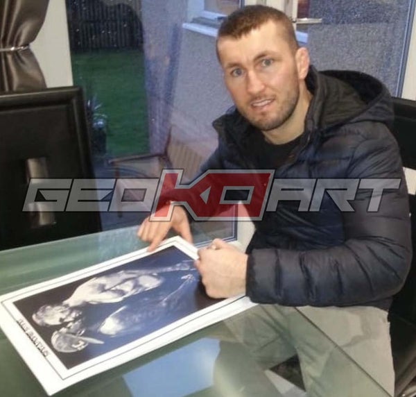 Image of STEVIE BRAVEHEART RAY - (SIGNED) UFC