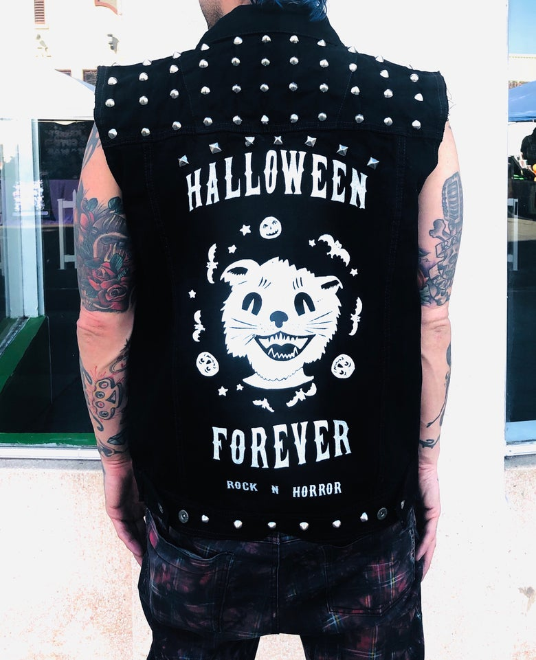 Image of Halloween Forever Studded Vest