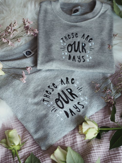 Image of These Are Our Days - Grey Tee, Kids