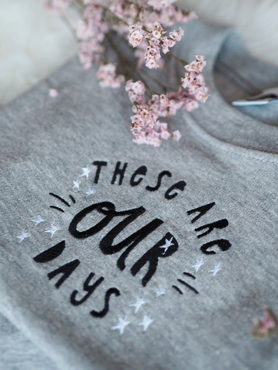 Image of These Are Our Days - KIDS grey tee