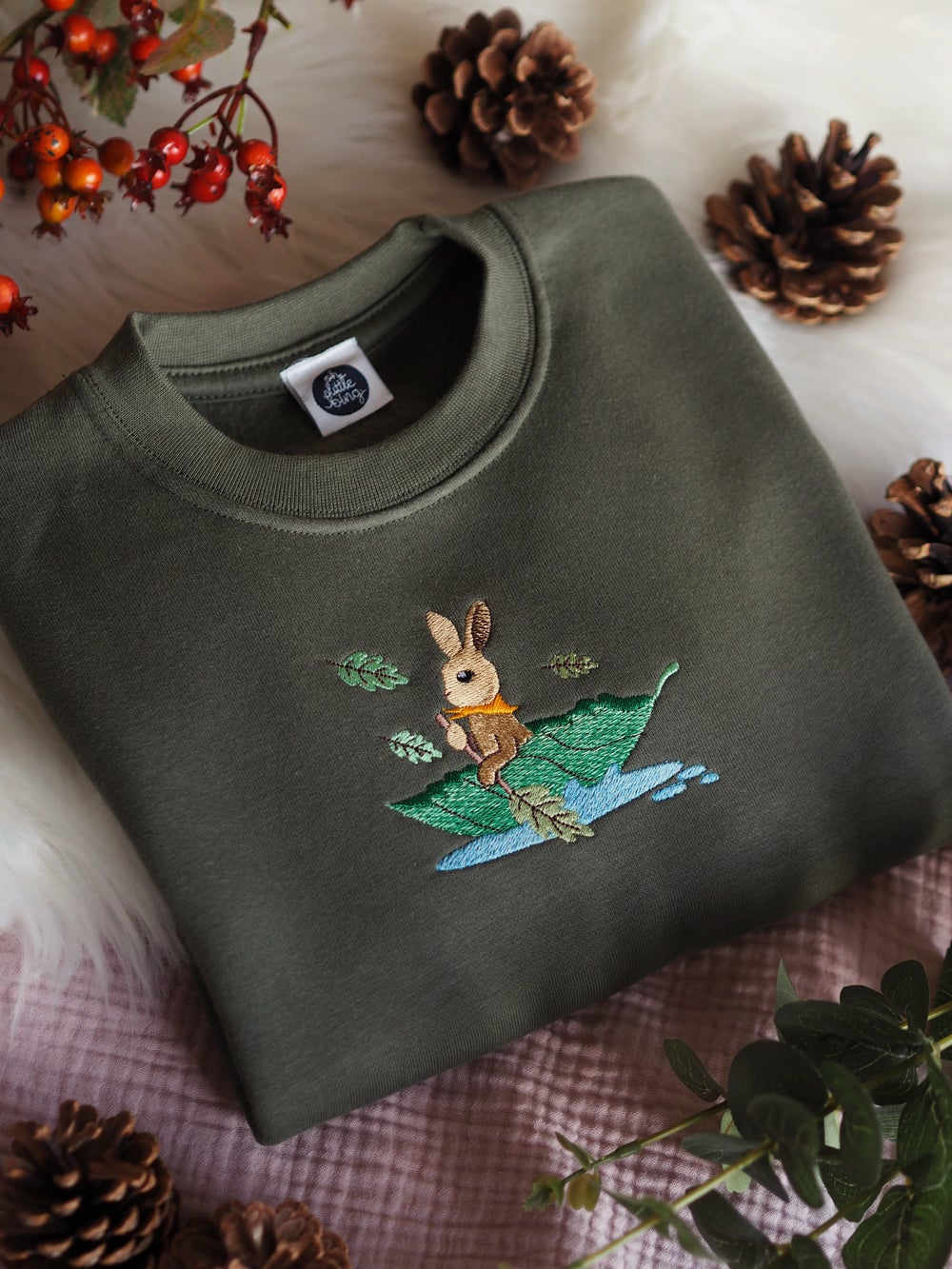 Image of Lazy River Days - Olive sweater