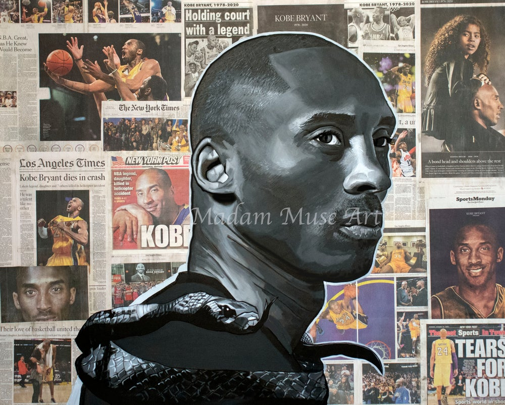 "Image of ""The Black Mamba"" Limited Edition Prints"