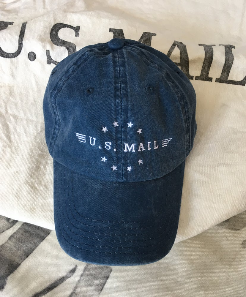 Image of U.S. Mail Cap — (Navy or Khaki)